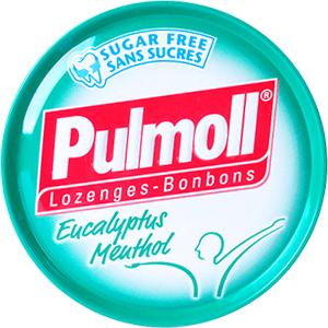 Pulmoll eucalyptus menthol
